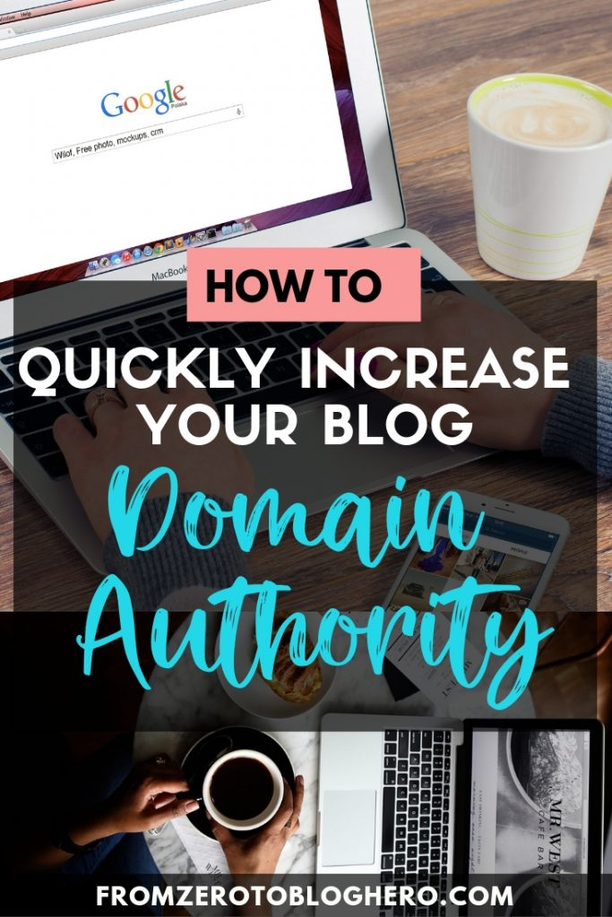 As a new blogger you often hear people talk about Domain Authority (DA), but what does it really mean? In this article I go over exactly what is DA, how is DA calculated, why it matters, why it doesn't, and how to increase DA. Click to find out everything you need to know about DA as a blogger! #da #moz #blog #bloggingadvice