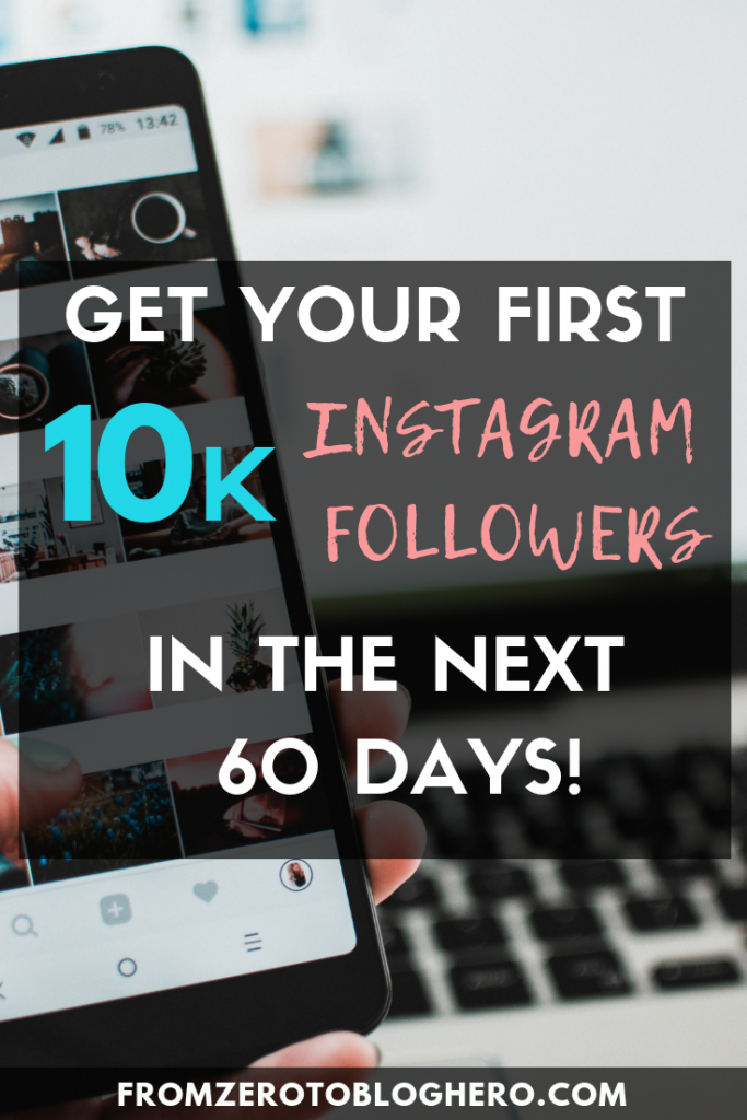 Transform your influence in the next 60 days by following our 10 top tips on how to get 10k followers on Instagram! #instagram #gainfollowersoninstagram #howtogrowoninstagram