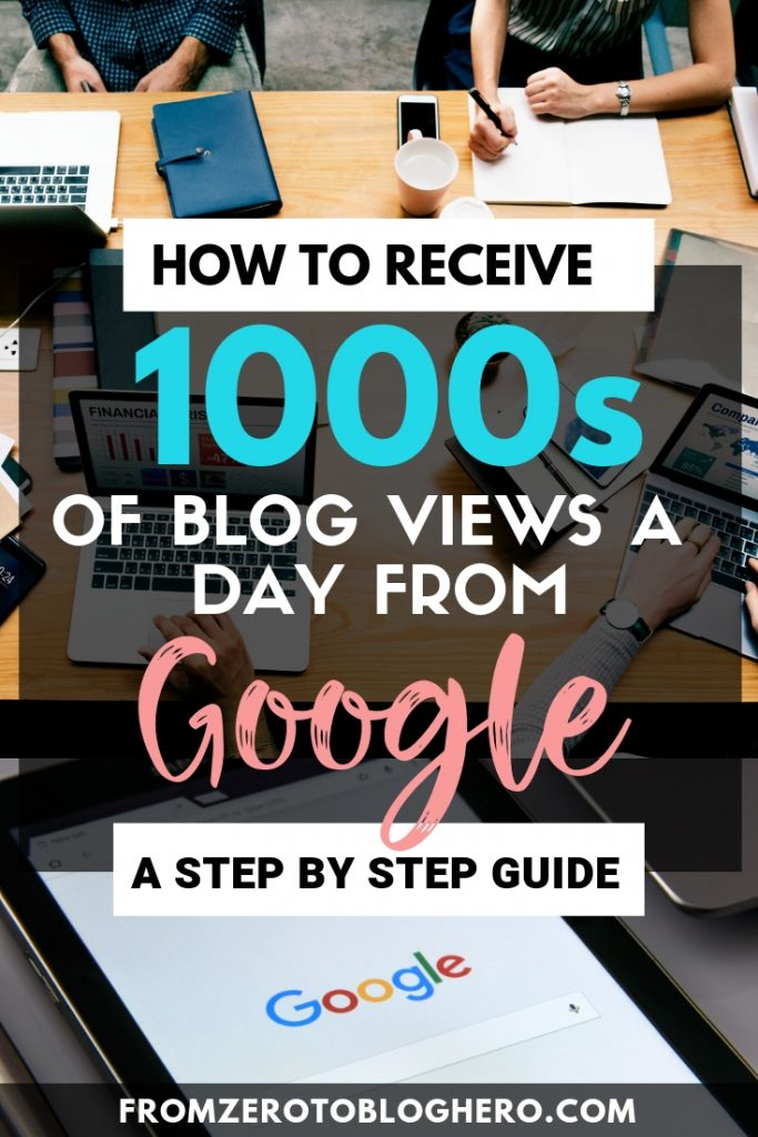 10 SEO tips that will explode your organic search engine traffic. Discover how I get 70,000+ views to my blog EVERY MONTH from Google. In this beginners SEO guide I will run you through everything you need to know about getting blog traffic from Google. #seo #google #blog #bloggingadvice #searchengine