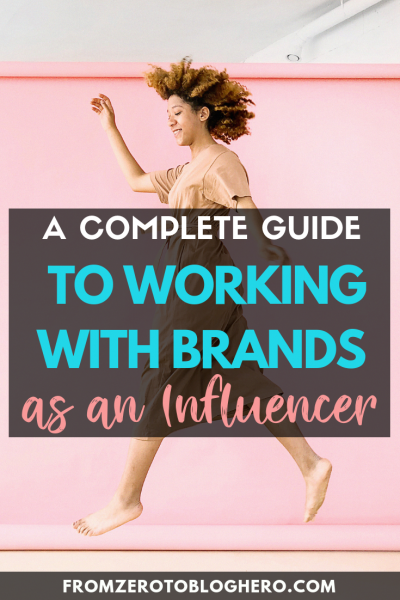 guide to working with brands