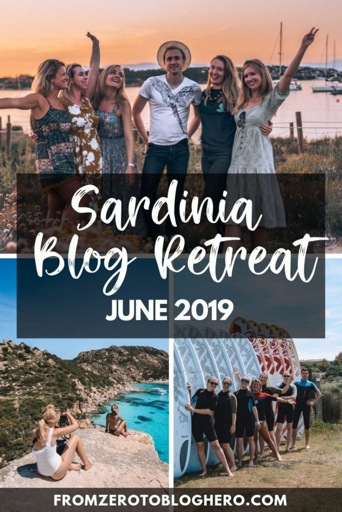 In June 2019 we ran our very first blog retreat in Sardinia, Italy. Read all about how it went, with reviews from our students! #blog #blogretreat