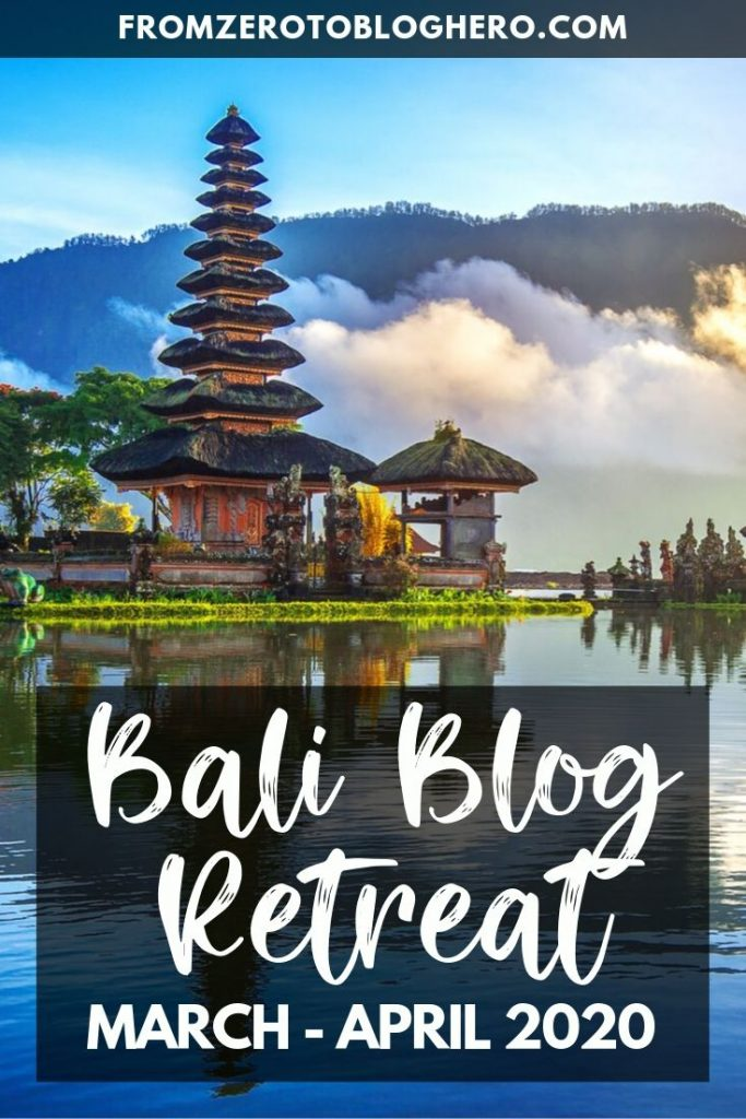 Want to become a full-time blogger but don't know how? In Spring 2020 travel to Bali with us to learn all the techniques and secrets to become a professional blogger and social media influencer! #bali #baliretreat #blogretreat #blog